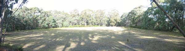 Hilltop cricket ground